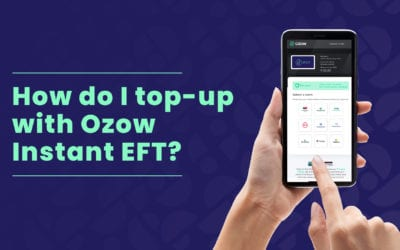 How-to: Top-up with Ozow Instant EFT